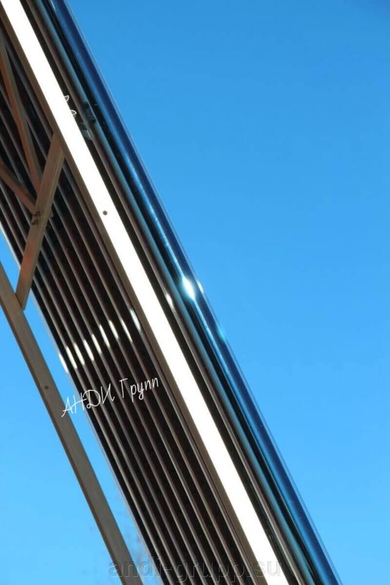 Гелиосистема для ГВС - фото Вакуумные трубки солнечного коллектора