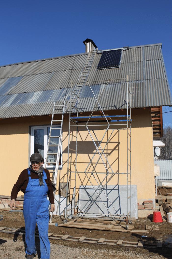 Солнечный коллектор в Калуге. - фото Отзыв о солнечном коллекторе АНДИ Групп