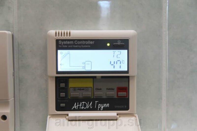 Гелиосистема для ГВС - фото Контроллер солнечного коллектора