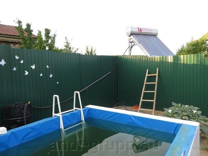 солнечный коллектор для бассейна