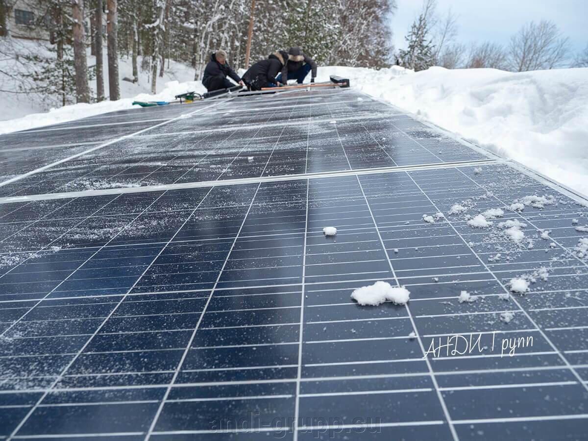 солнечные батареи в Карелии