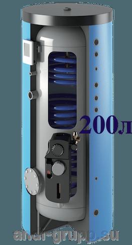 SH-200-24-Omega-R2 солнечная сплит-система - фото Бойлер серии Omega