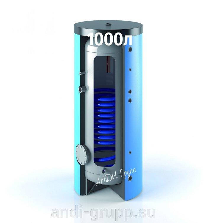 SH-1000-120-Omicron-R1  солнечная сплит-система - фото Бойлер Omicron R1 с одним теплообменником.