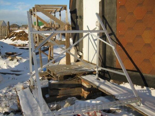 Солнечный коллектор в Курганской области. Геокупольный дом. - фото Манифолд солнечного коллектора