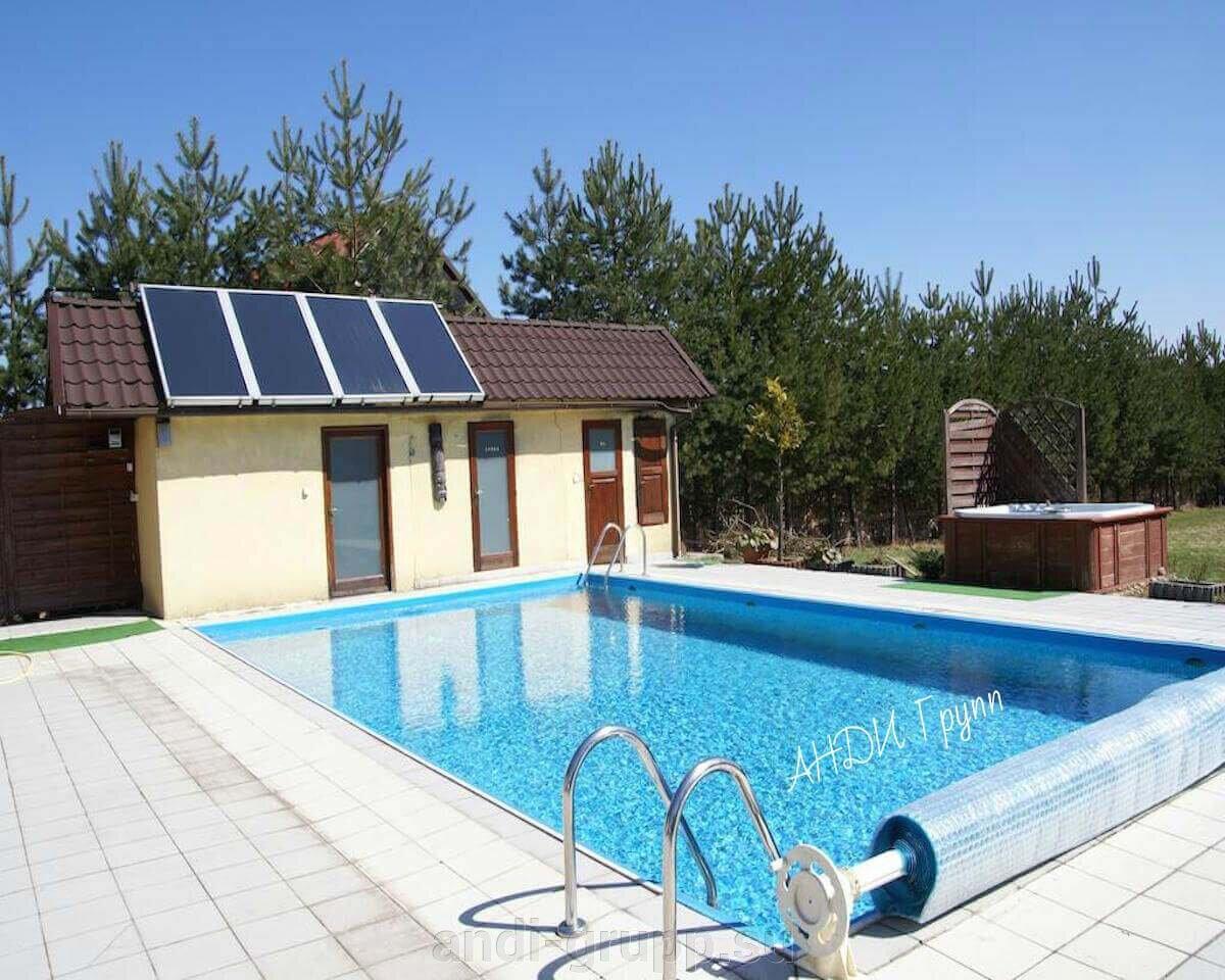 Солнечный коллектор для бассейна - фото солнечный коллектор для открытого бассейна