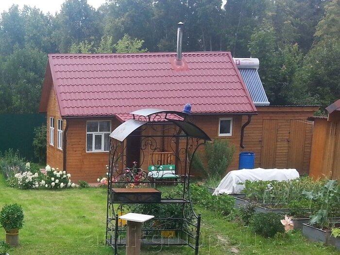 Солнечный коллектор для бани на даче