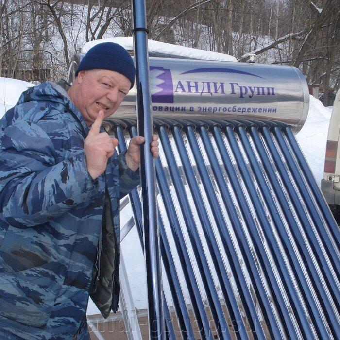Часто задаваемые вопросы - фото солнечный коллектор зимой