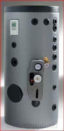 Вертикальный бойлер косвенного нагрева на 150л  Omicron - фото 1