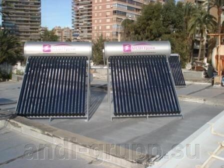 Солнечные коллекторы АНДИ групп в Испании