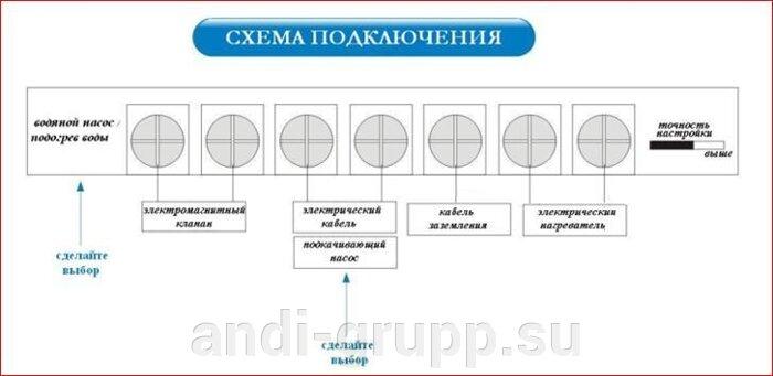 схема подключения солнечного коллектора