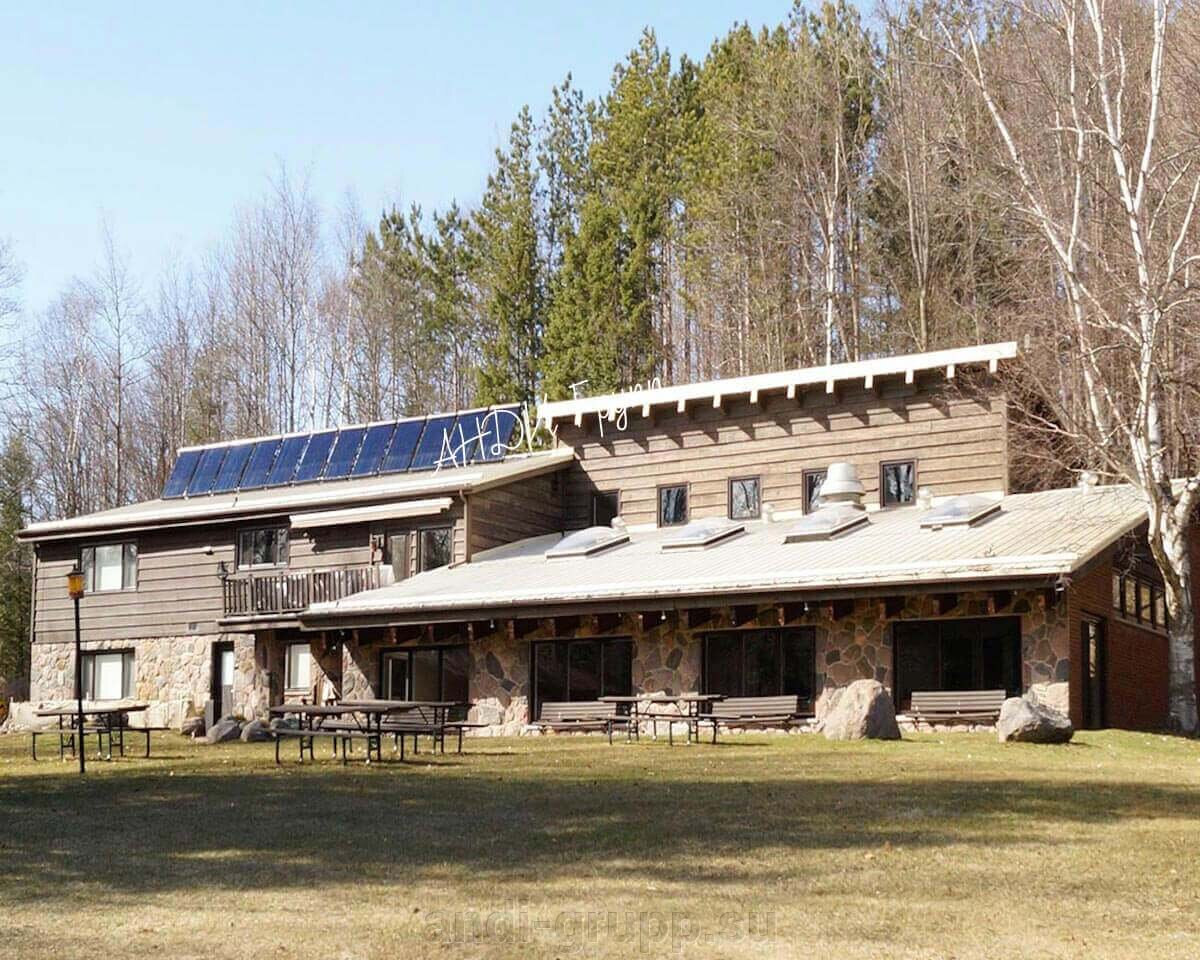 солнечный коллектор для закрытого бассейна