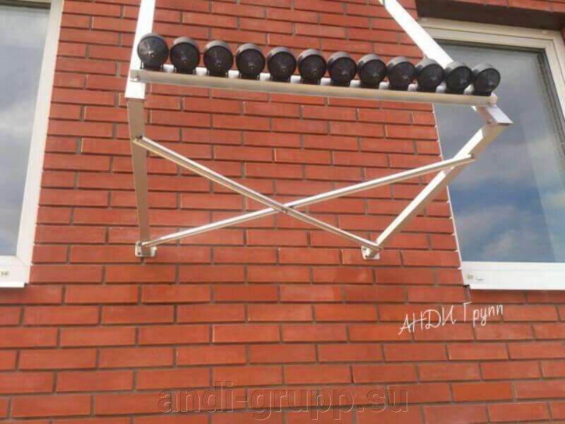 Гелиосистема для ГВС - фото Монтаж рамы солнечного коллектора