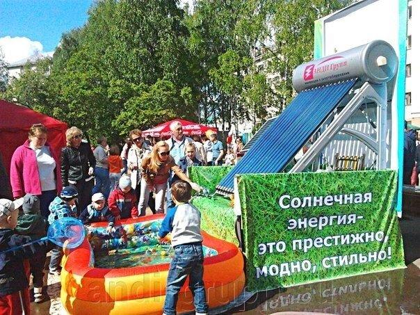 Солнечные коллекторы в Сыктывкаре