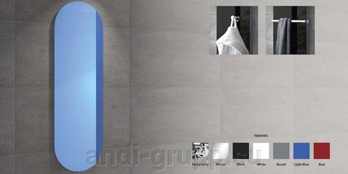 Радиаторы дизайнерские «Ринг» цветные - фото Радиаторы дизайнерские стеклянные