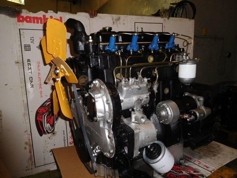 Ремонт двигателя Д3900