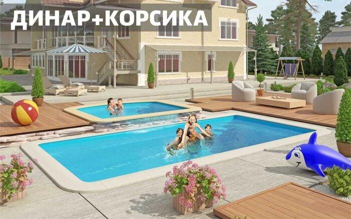 Композитный бассейн КОРСИКА NORDPOOL - фото 1