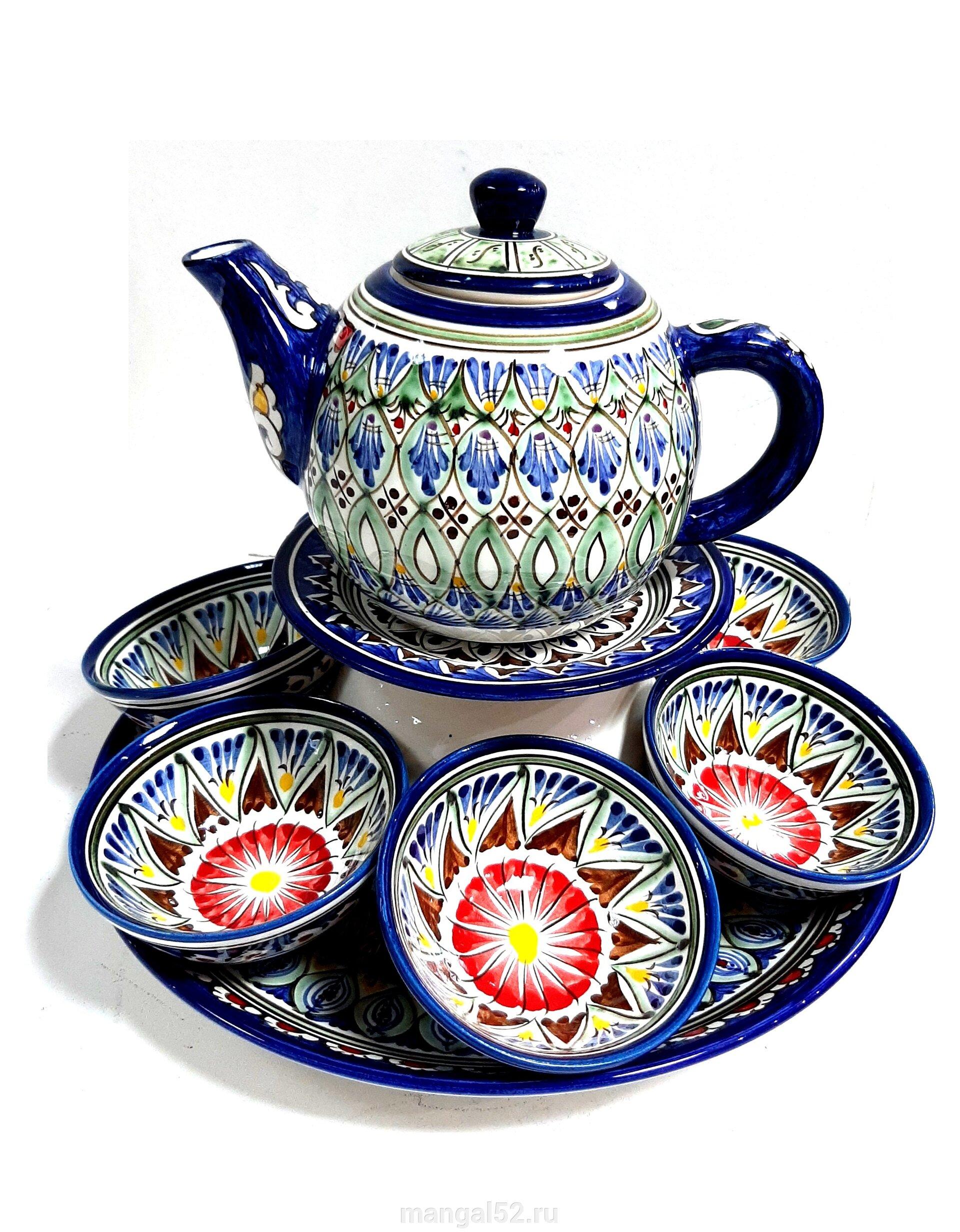 купить фарфоровый чайный набор