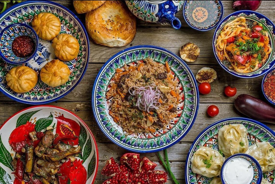 купить узбекское большое блюдо для плова