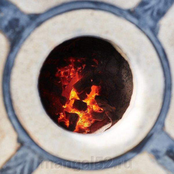 Правила первого розжига тандыра - фото тандыр амфора купить