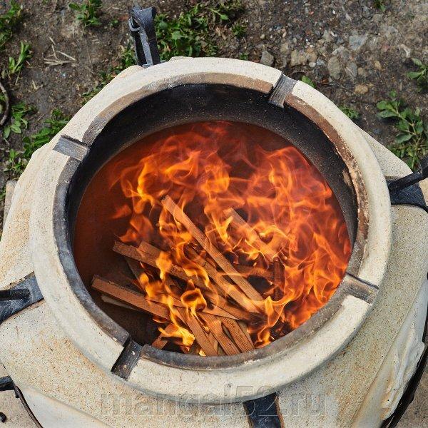Правила первого розжига тандыра - фото купить тандыр
