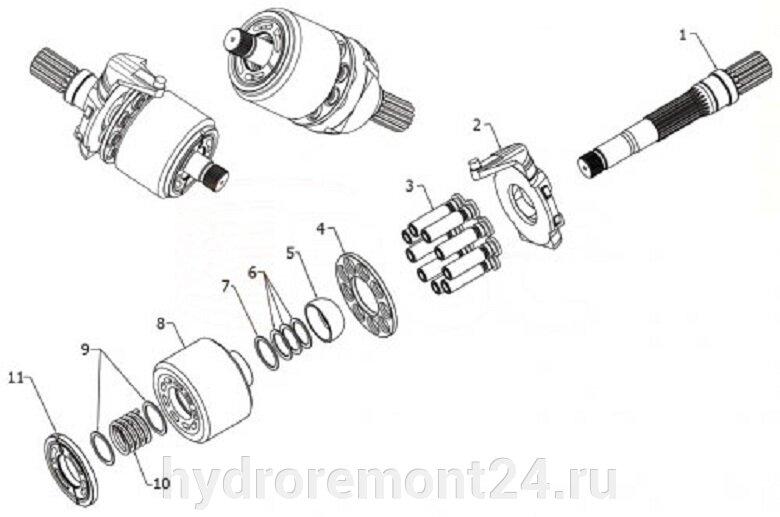 Ремонт гидронасоса  Rexroth A4VG56 - фото pic_38d5f70119f9758c0ed1e2cfa0596ec3_1920x9000_1.jpg