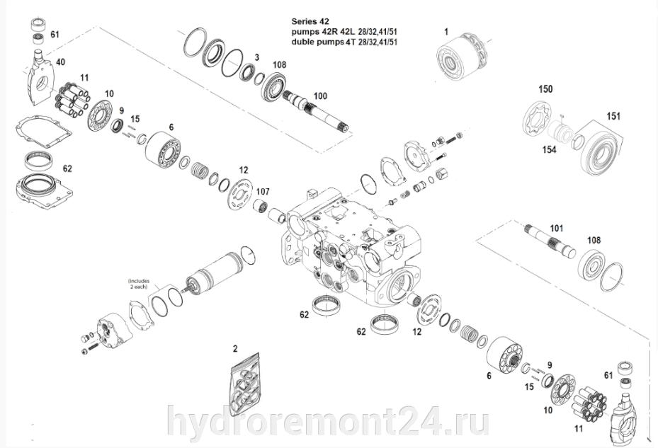 Ремонт гидронасоса Sauer Danfoss 42R51 42L51 - фото pic_7aaa45782a8d745b8cd099db15551a1e_1920x9000_1.png