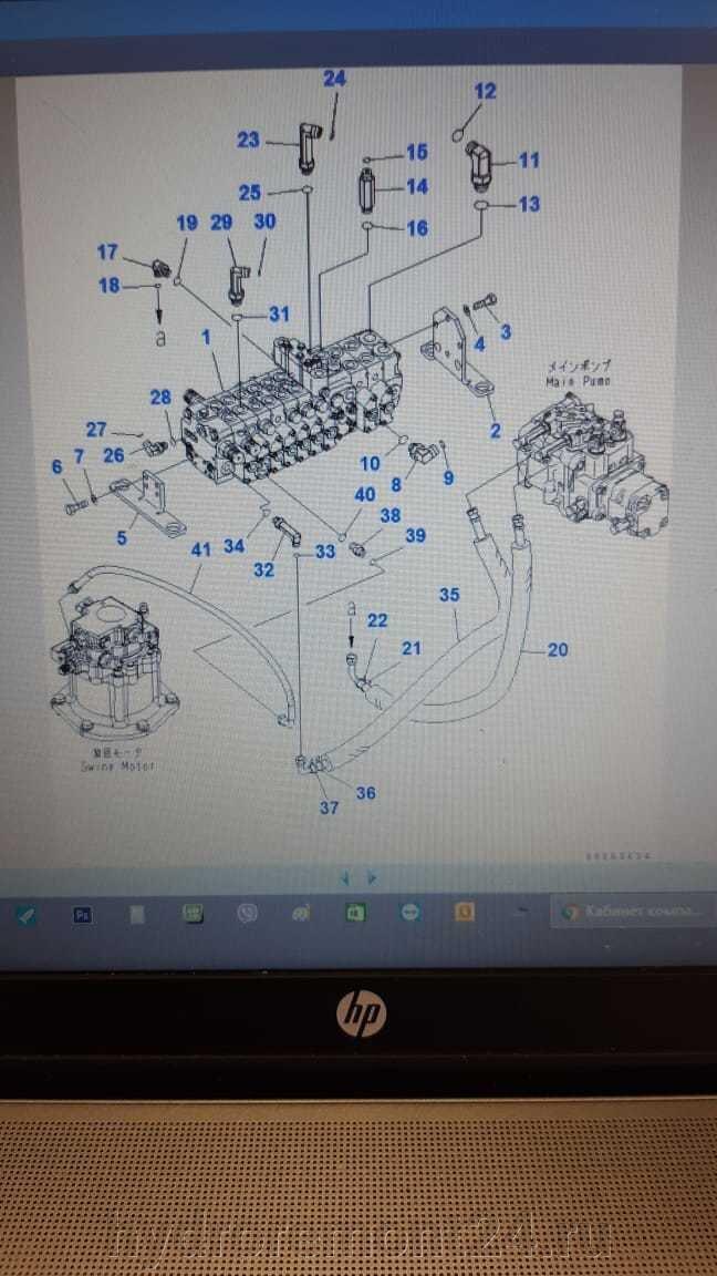 Гидрораспределитель для мини экскаватора PC35 Komatsu - фото pic_6c1177a3a5751a651fafaa23ce40bfe2_1920x9000_1.jpg