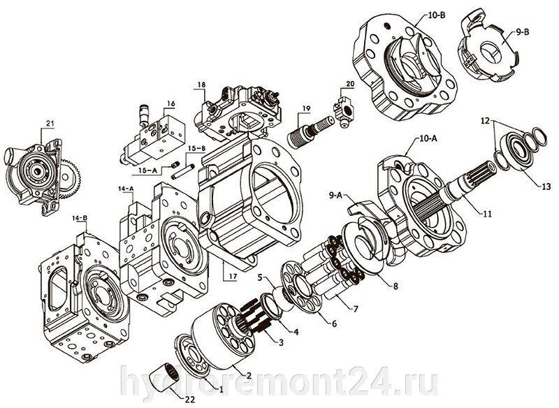 Ремонт гидронасоса Kawasaki K3V112S - фото pic_718ad2e5a34e200924d4ec65b564096f_1920x9000_1.jpg