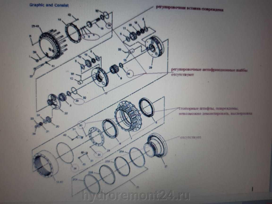 Ремонт редукторов экскаватора KOMATSU - фото pic_c8d9b09aff001b9e51140e85b398ac2e_1920x9000_1.jpg