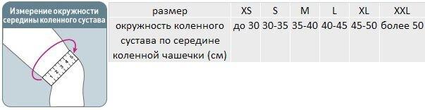 ЭЛАСТИЧНЫЙ КОЛЕННЫЙ БАНДАЖ (СО СПИРАЛЬНЫМИ РЕБРАМИ) ORLETT MKN-103(M) - фото pic_aada456352d358b_700x3000_1.jpg