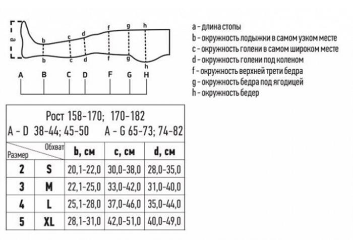 Чулки госпитальные (противоэмболические) Tonus Elast 0403 на рост 158-170 - фото pic_0093b7b650b7ab6_700x3000_1.png