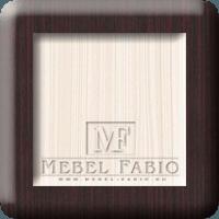 Комод Fabio КМВ 05-4 - фото комбинированный (венге и молочный дуб)