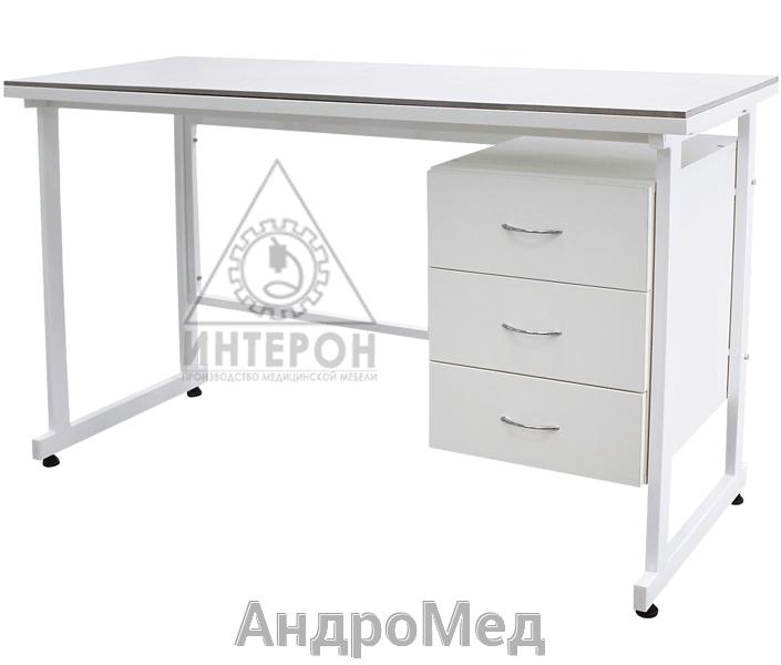 стол медицинский лабораторный слаб К-126-750