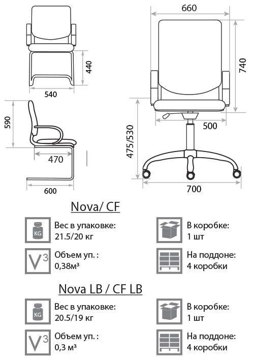 Кресло для руководителя Nova PXN - фото pic_40ccbe52f5c0185_700x3000_1.jpg