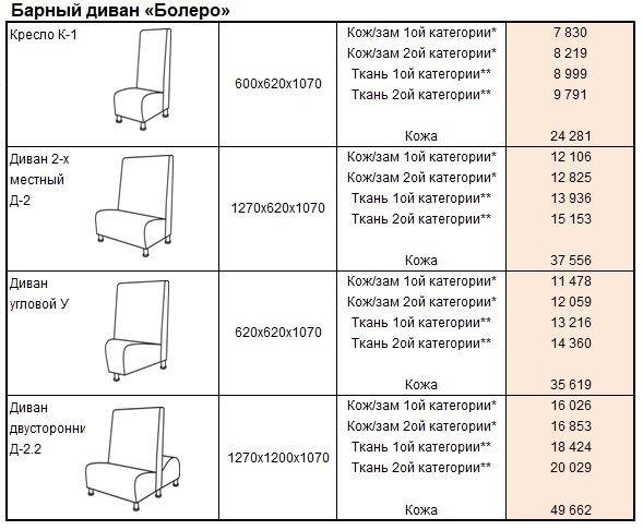 "Барный диван ""Bolero"" - фото pic_6b75a7a0b43b8eb_1920x9000_1.jpg"