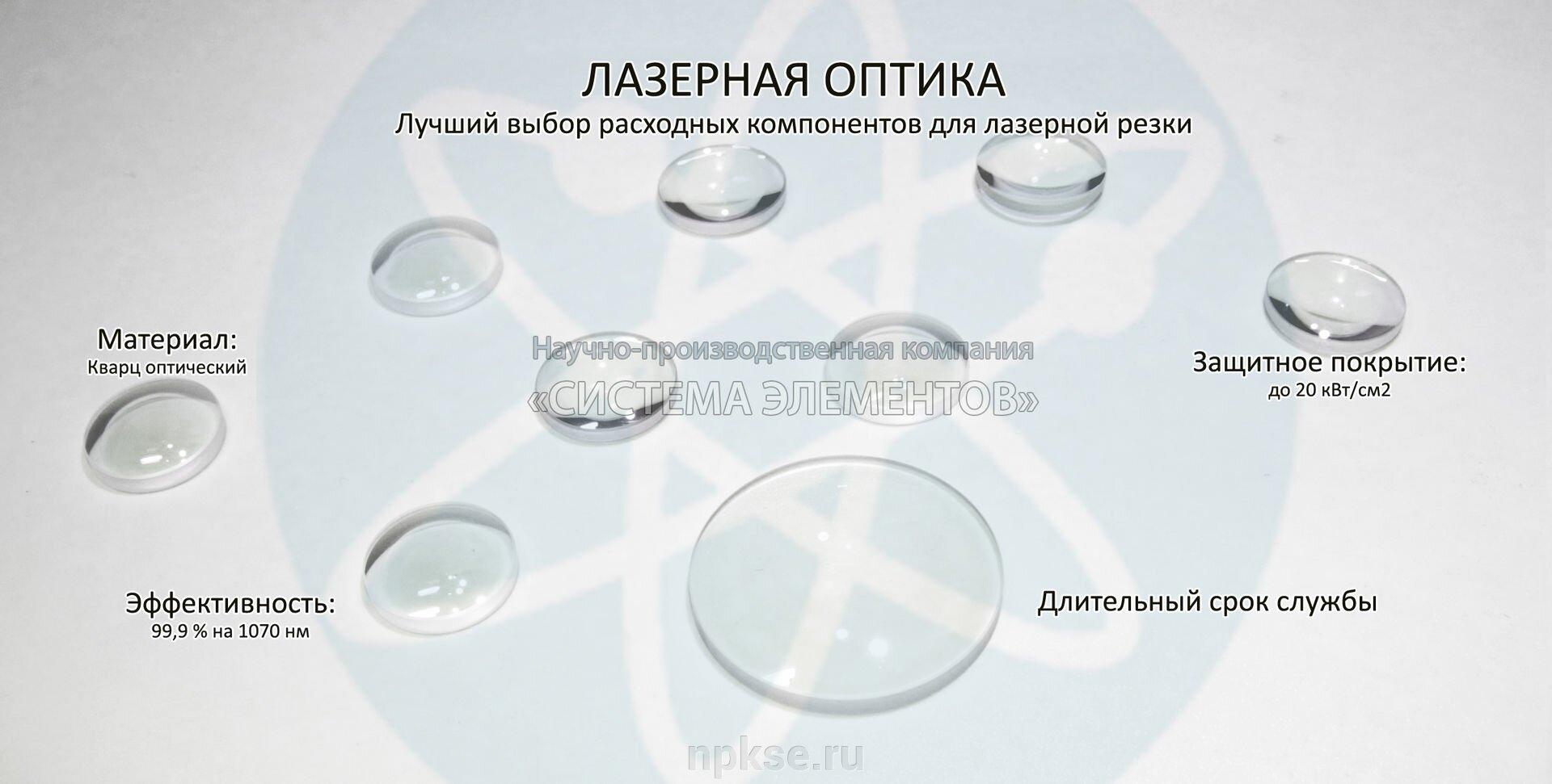 ЭИП.964100.039 Линза - фото Параметры заготовок