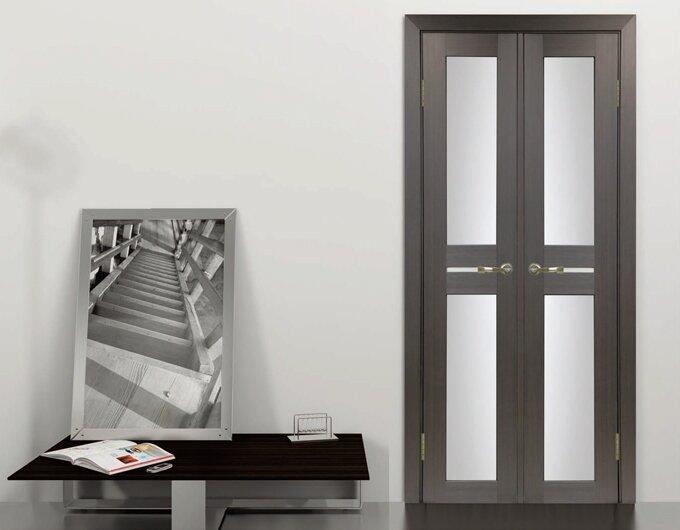 Двуполые распашные двери