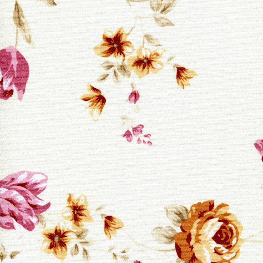 Рулонные шторы Болгарская роза H-150, изготовление по точным размерам - фото Болгарская роза розовый