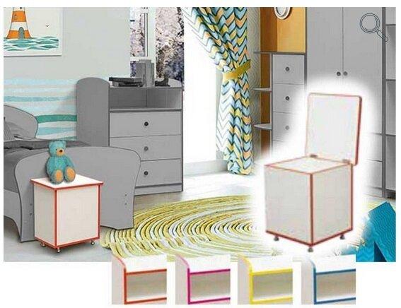 """Набор модульной мебели для детской комнаты """"Юниор-10"""" с кроватью - фото pic_d43a09886c56eab8b6b72cd917f19e06_1920x9000_1.jpg"""