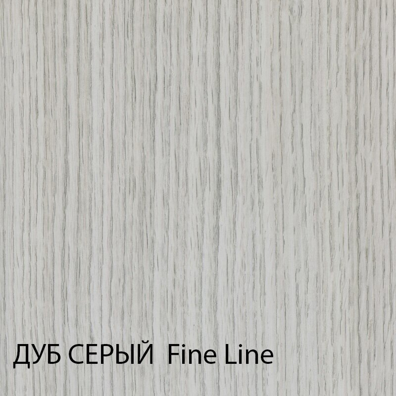 Дверь межкомнатная экошпон Турин 501.1 - фото Межкомнатные двери Дуб серый Ялта