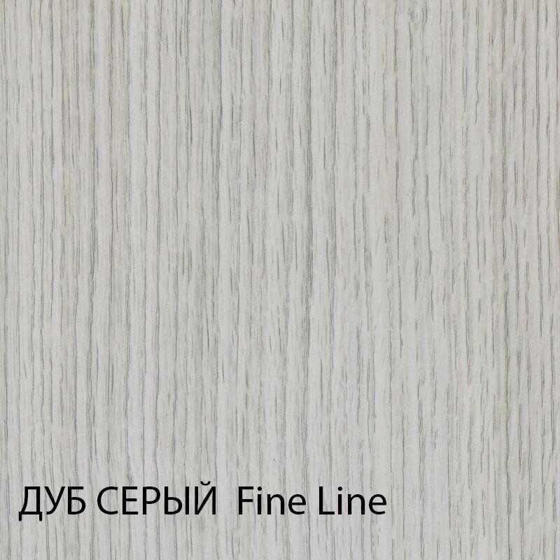 Доборная планка межкомнатных дверей Турин - фото Дуб серый короб межкомнатных дверей