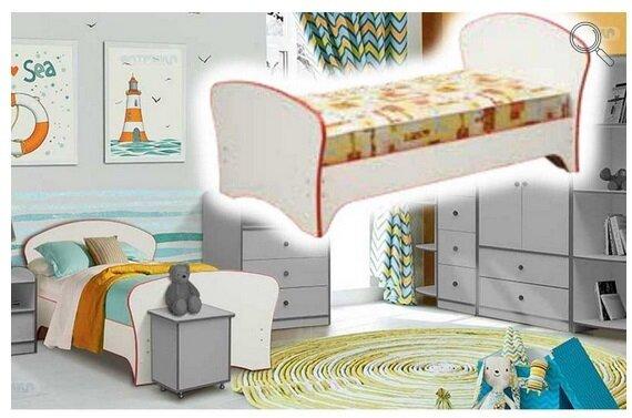 """Набор модульной мебели для детской комнаты """"Юниор-10"""" с кроватью - фото pic_640066df0416f70b12417203cecae7bd_1920x9000_1.jpg"""