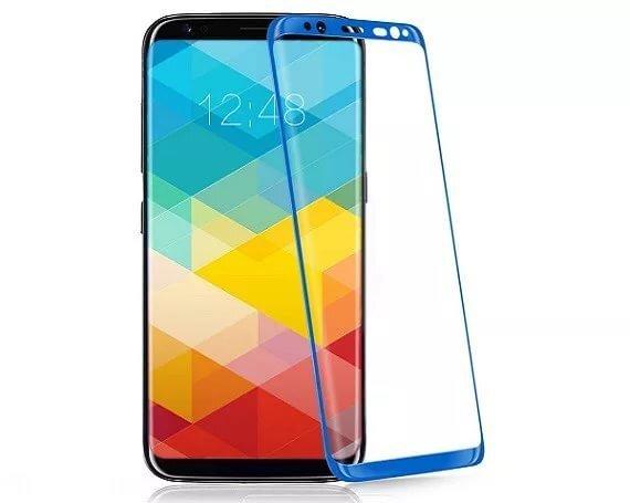 Стекло защитное 3D 0.3 mm  для Samsung s8 Blue - фото pic_2d5c5aa45078bf37b431791d8181035a_1920x9000_1.jpg