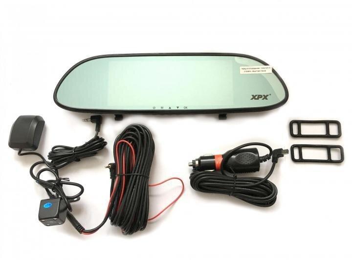 Автомобильный видеорегистратор-зеркало XPX ZX-867 c 2 камерами - фото pic_7f2ea0518945992c299221b21f5974b0_1920x9000_1.jpg