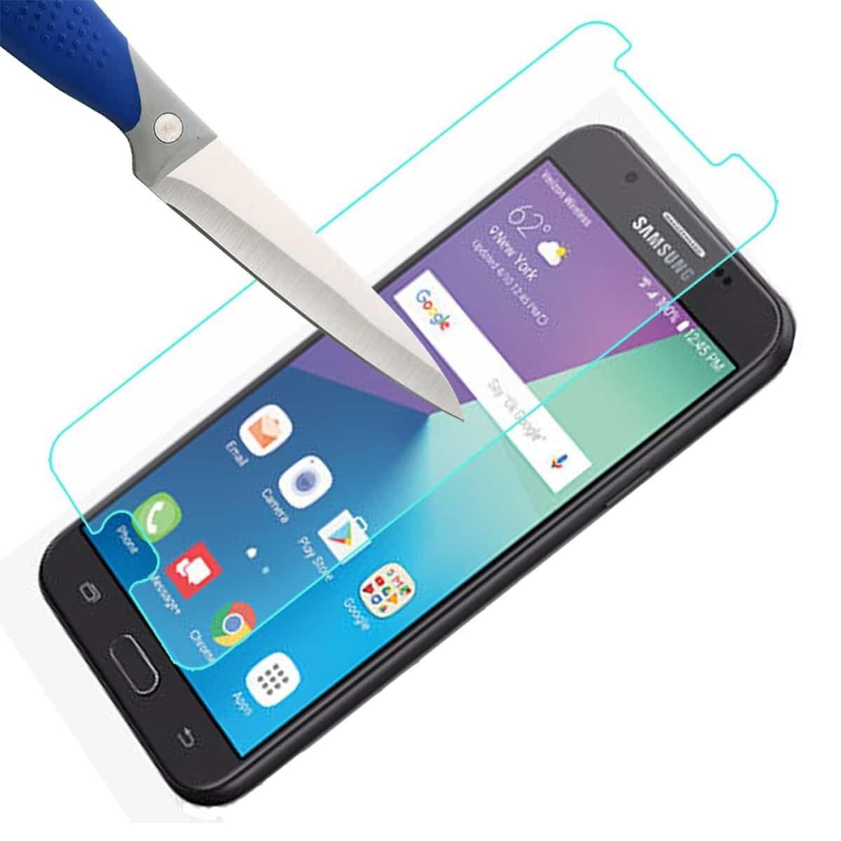 Защитное стекло Samsung Galaxy J7 (2017) 0.3мм 2.5D - фото pic_8666e842bf59187eae820de75568f202_1920x9000_1.jpg
