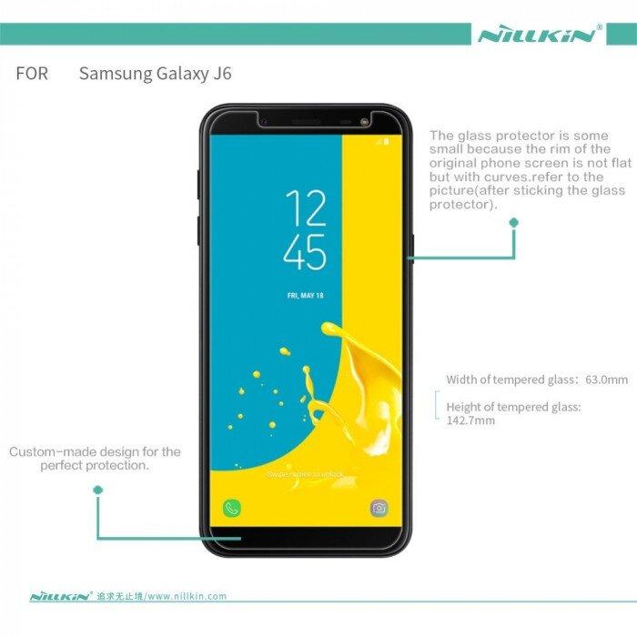Защитное стекло Samsung Galaxy J6 (2018) 0.3мм 2.5D - фото pic_e97430cdb6ce39704b0d9aabc2203e9b_1920x9000_1.jpg