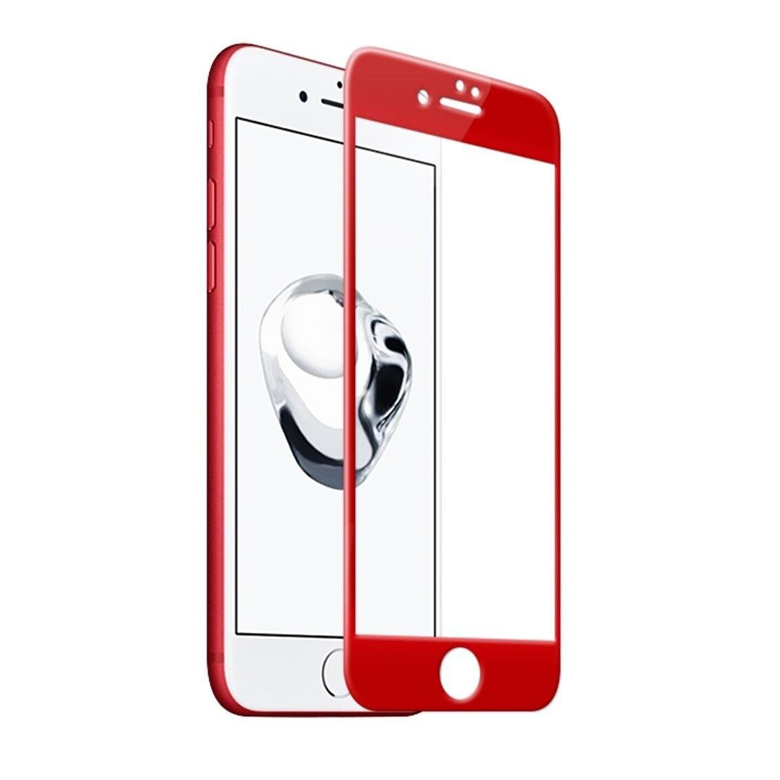 Защитное стекло подходит для iPhone 7 Plus  0.3mm . Усиленный край 5 D красного цвета - фото pic_a150df7ea0f02a0c32da9741aa1425da_1920x9000_1.jpg