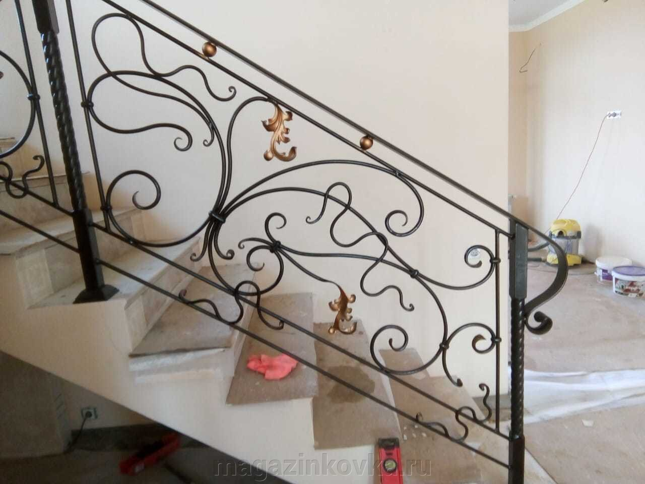 Перила и ограждения для лестниц, балконов, террас - фото pic_12371da7b487e7baa42a0101c246d9f4_1920x9000_1.jpg