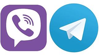 Viber и Telegram: