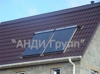 Солнечная сплит-система - фото солнечный коллектор